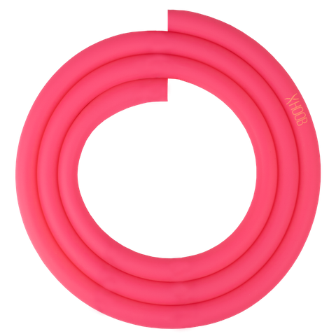 Silicone Hookah Hose | Pink Soft-Touch