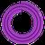 Силиконовый шланг   Фиолетовый Матовый