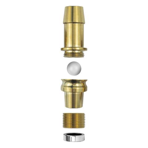 Futurist Extra Hose Gold | Комплект для курения вдвоём
