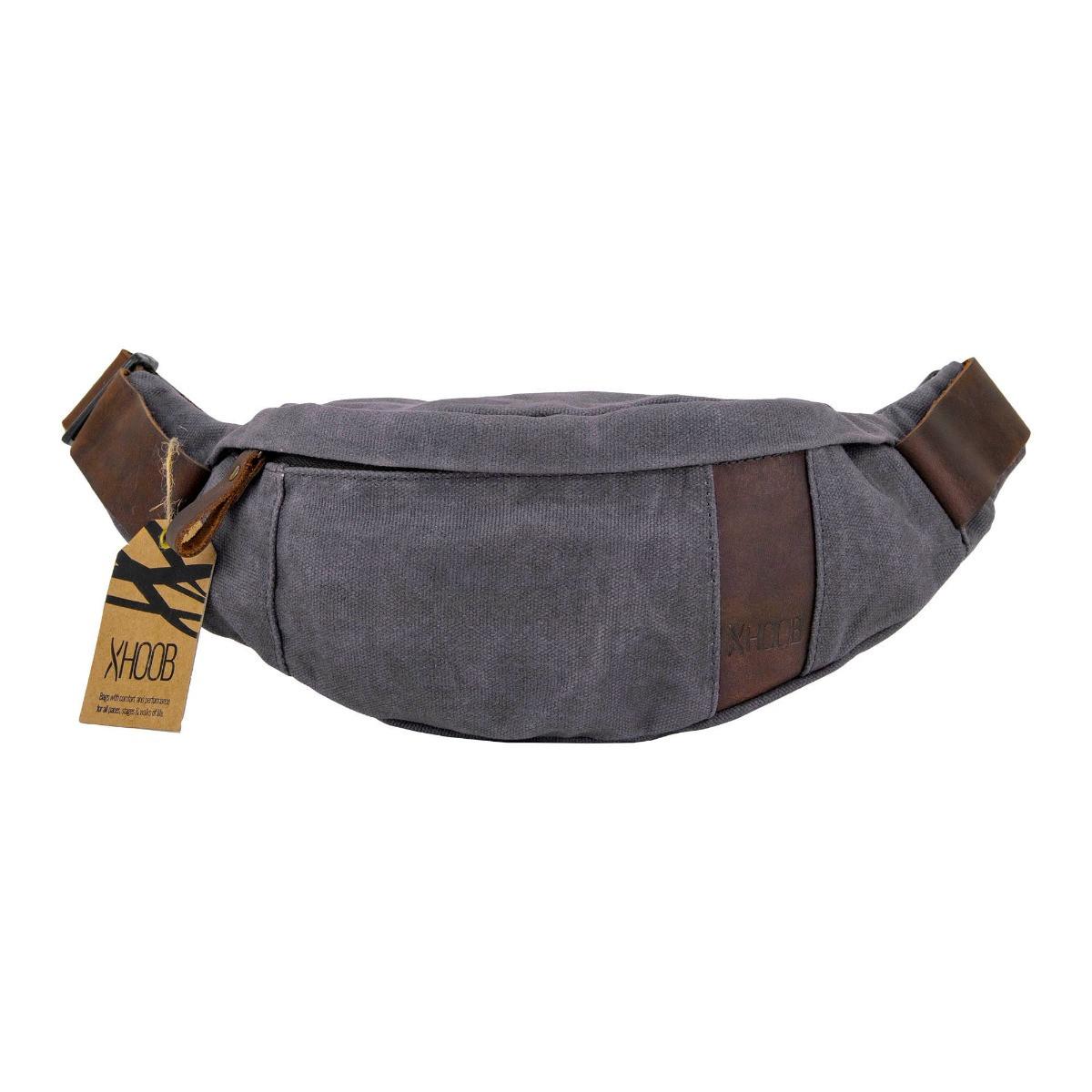 Hoob Belt Bag | leather & canvas hip pack