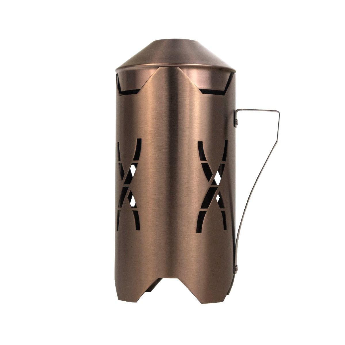 Hoob Windcover Bronze   Heat Management Device