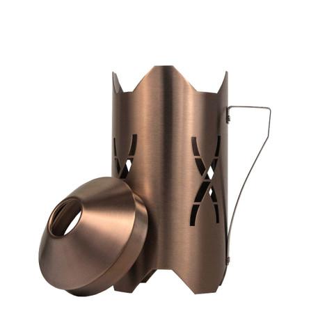 Hoob Windcover Bronze   2в1 Колпак и Ветровик