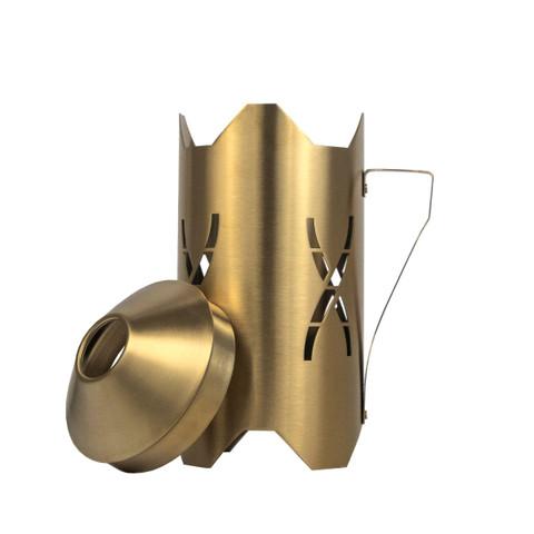 Hoob Windcover Gold   2в1 Колпак и Ветровик
