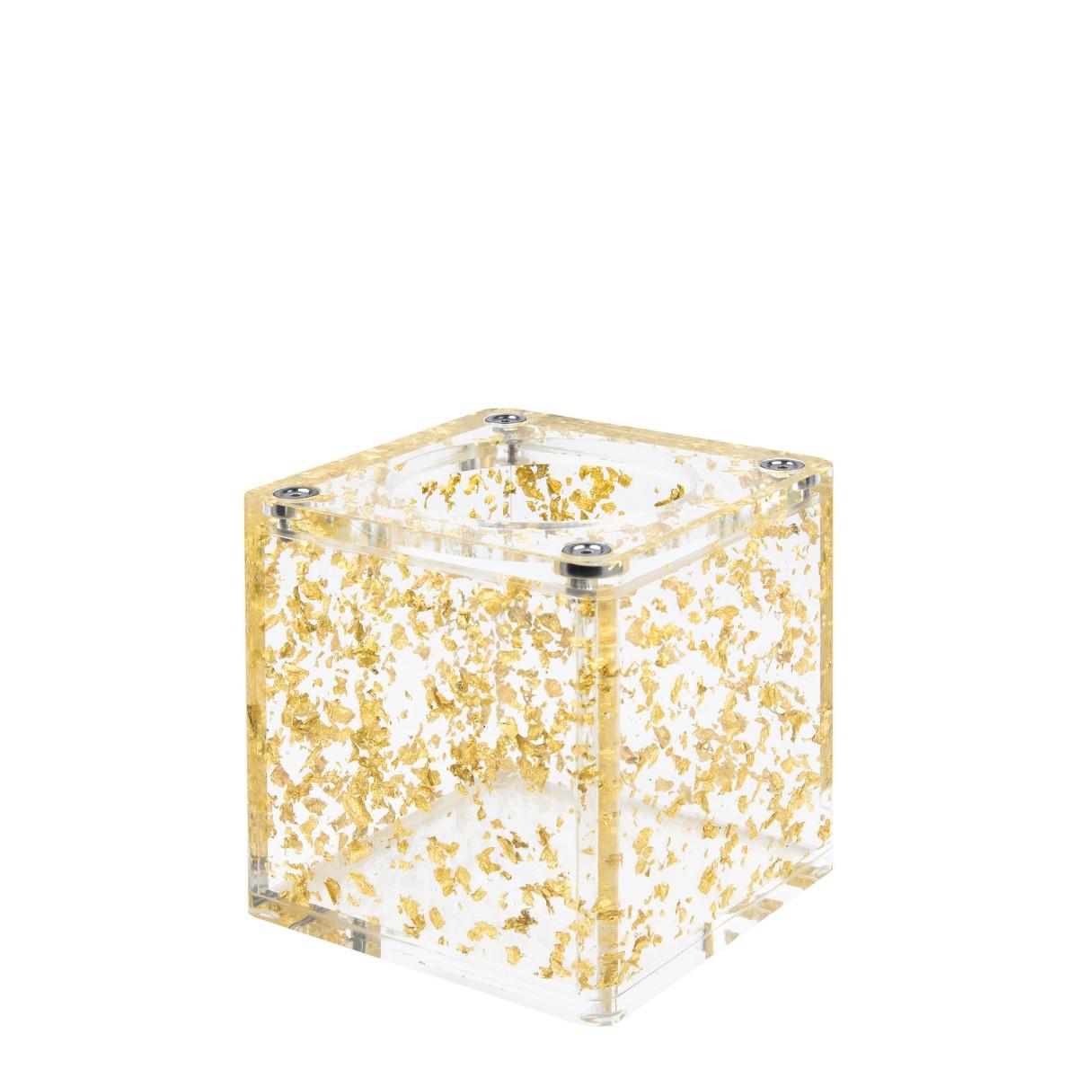 Hoob Cube Gold Mini | Acrylic hookah base