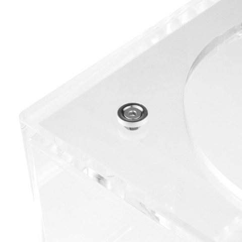 Magnetic disc + screw + nut | Cube hookah base