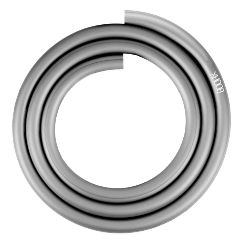 Silicone Hookah Hose | Space Grey Soft-Touch