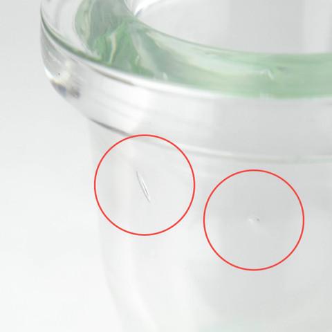 Hoob Base Green Mini SALE   18cm glass hookah vase